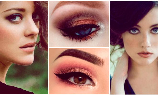 Cómo delinear correctamente los ojos redondos