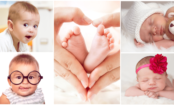 14 nombres de bebés que estarán de moda este 2017