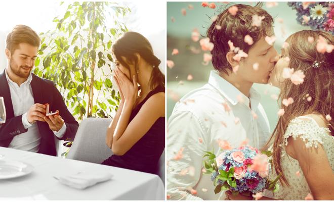 Los pros y contras de casarte con él de acuerdo a su signo