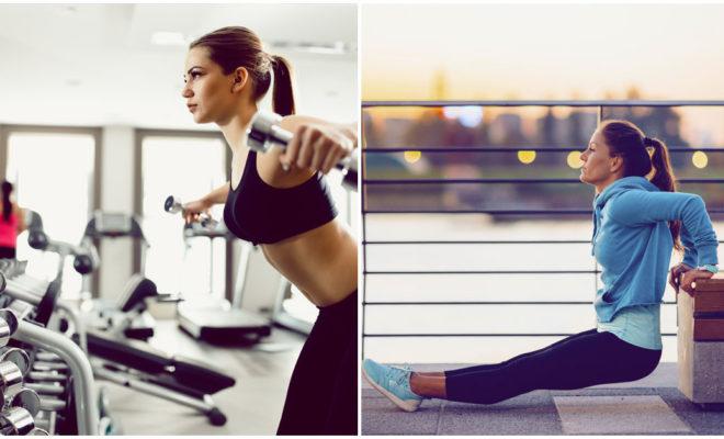 Hacer ejercicio al aire libre o en el gym, ¿qué es mejor?