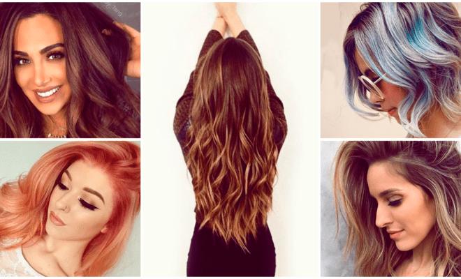 6 tonalidades de cabello que estarán de moda todo el 2017