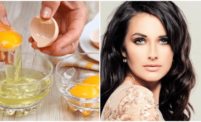 Clara de huevo para mantener joven tu piel
