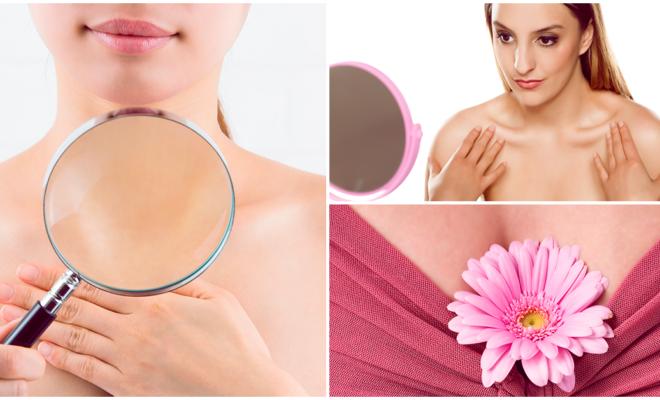 Cómo evitar y disminuir las arrugas en tu busto