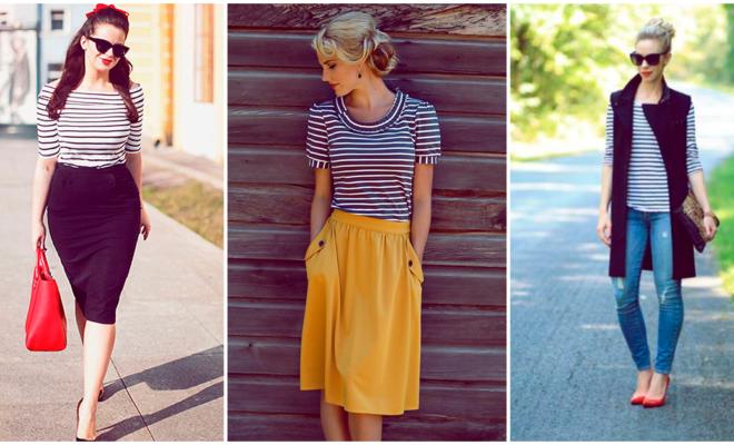 Cómo llevar rayas en tu look, ¡elige la mejor prenda!