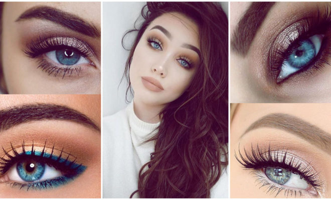 Maquillaje para lucir tus hermosos ojos azules