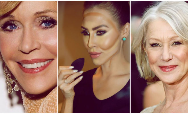Errores que cometes al maquillarte para disimular las arrugas