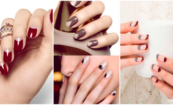 Nuevo estilo francés de uñas, ¡super elegante!