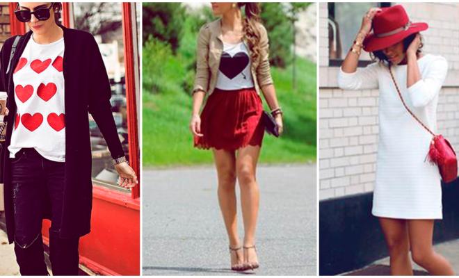 Los más lindos outfits casuales para San Valentín