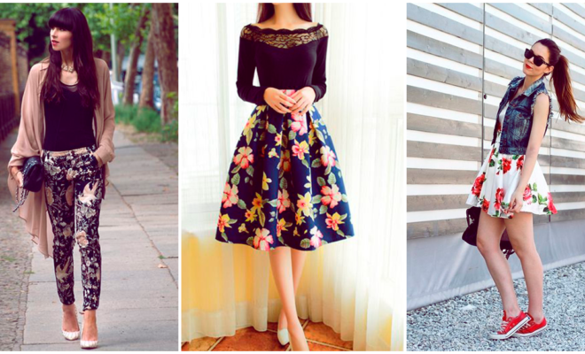 Los mejores outfits floreados para esta temporada de calor