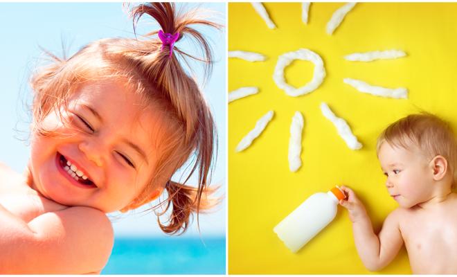 Los beneficios de darle un baño de sol a tu bebé