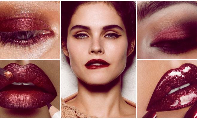 Luce espectacular con este makeup marsala
