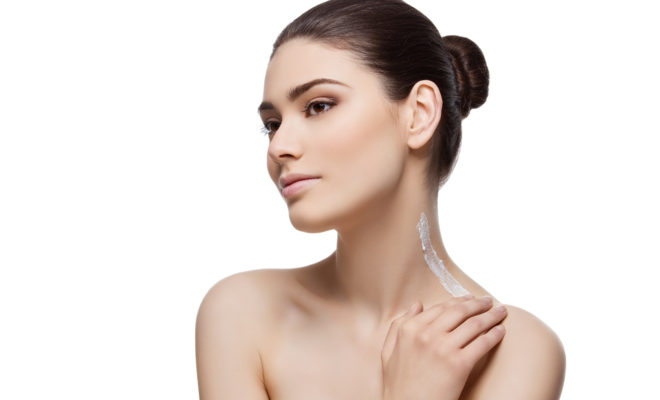DIY aclarador para cuello con ingredientes naturales