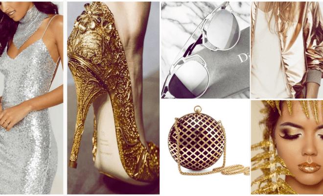 Las prendas metálicas que toda mujer con estilo debe tener