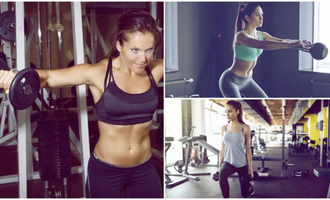 Levantar el mismo peso puede hacerle esto a tu figura