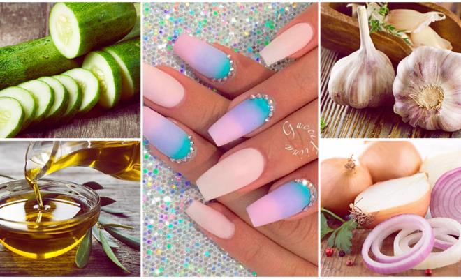 Remedios caseros para hacer crecer tus uñas más fuertes