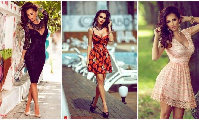 Disfruta del calor con esta hermosa selección de vestidos cortitos