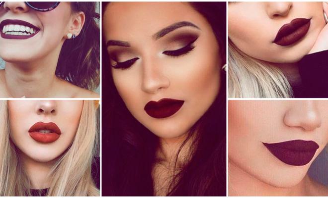 Lipsticks oscuros, ¿cuándo sí y cuándo no?