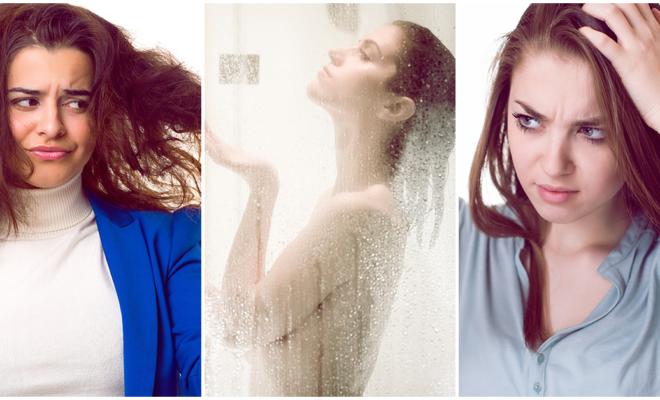 Evita los baños de agua caliente si no quieres resecar tu cabello