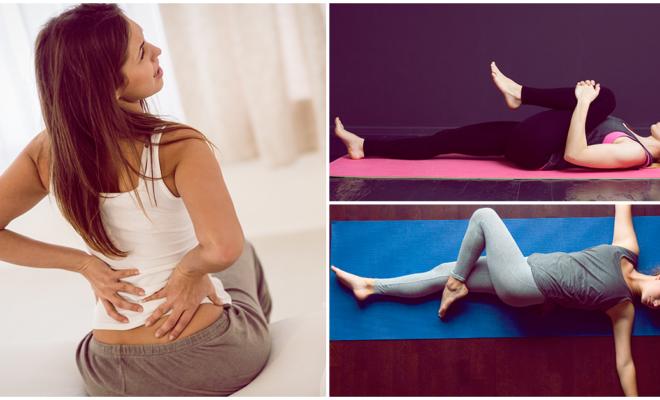 6 estiramientos para aliviar el dolor en la espalda baja, ¡te relajarás por completo!