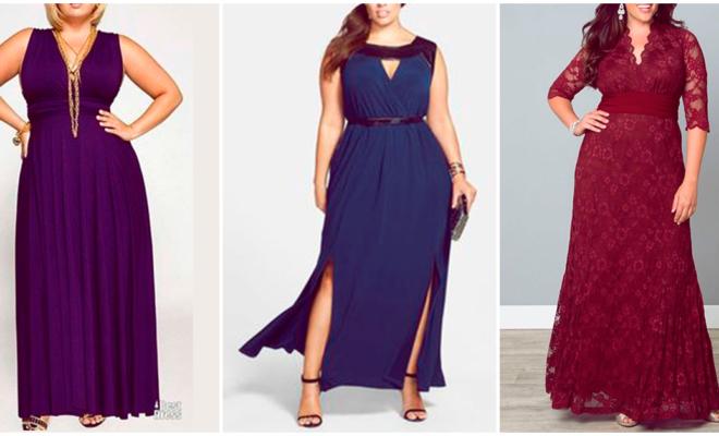 Los mejores vestidos de noche para chicas curvy