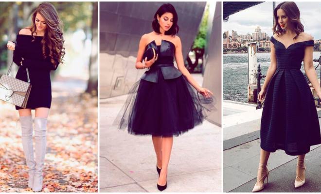 7 formas de combinar un vestido básico para verte muy sofisticada