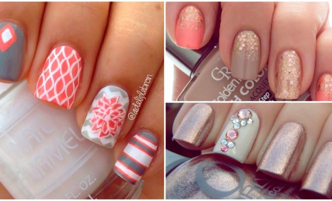 Diseños de uñas discretas y muy lindas para las chicas con mucha clase