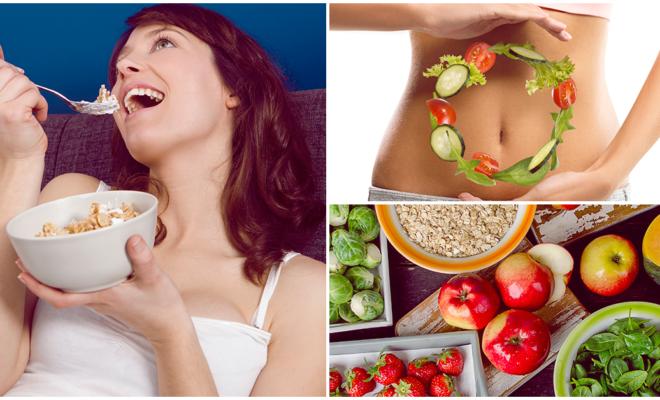 Dieta rica en fibra para bajar de peso