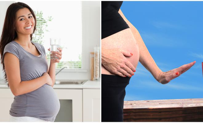 Bebidas para embarazadas, cuáles sí  y cuáles no