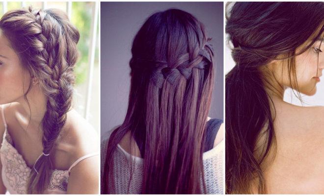 Peinados fáciles y rápidos para chicas con cabello lacio