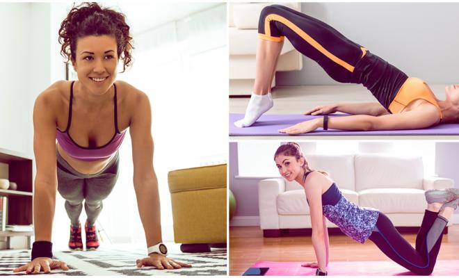7 ejercicios para las chicas que empiezan a ejercitarse en casa