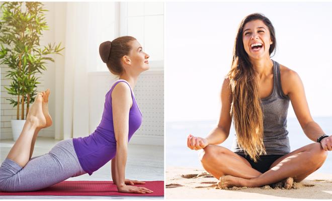 Posturas que harán tu rutina de yoga más divertida