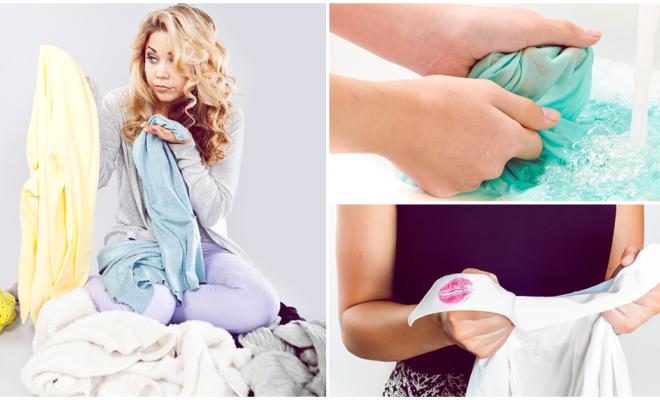 6 formas de evitar que tu maquillaje quede en la ropa