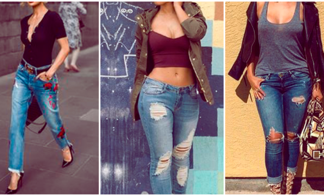 5 looks con jeans que te harán lucir muy sexy