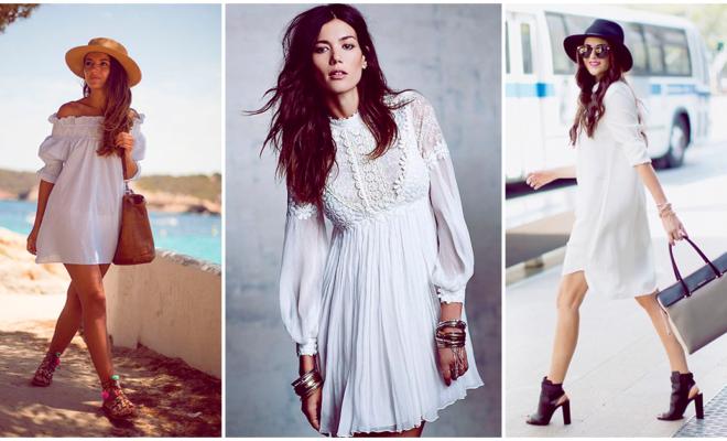 Los mejores vestidos blancos para esta primavera