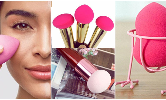 Errores que cometes al maquillarte con un esponja o beauty blender