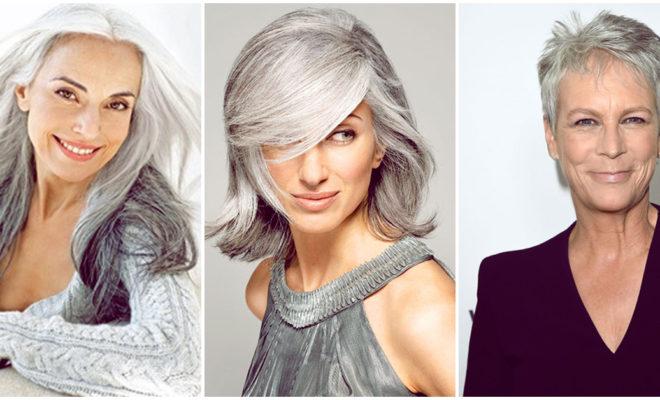 Cómo saber si puedes dejarte el cabello canoso sin verte más grande de lo que eres
