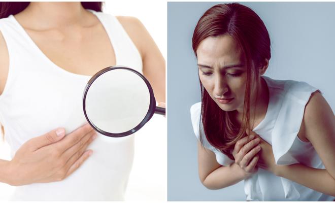 7 razones por las cuales te están doliendo los senos