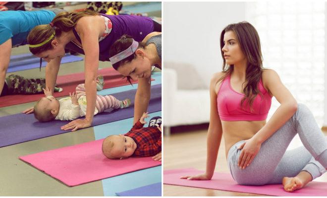 Encuentra el tiempo para hacer ejercicio después del parto