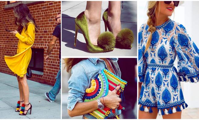 ¡Moda en pompones para las chicas más divertidas!