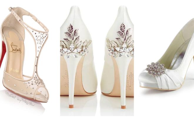 Zapatos perfectos para la futura novia
