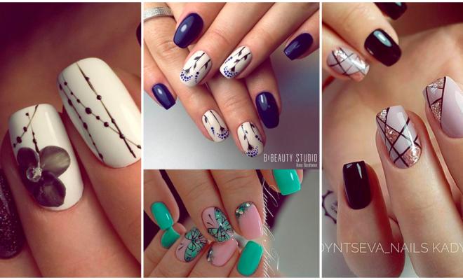 Si te has cansado de las mismas manicuras, estos nails art son para ti