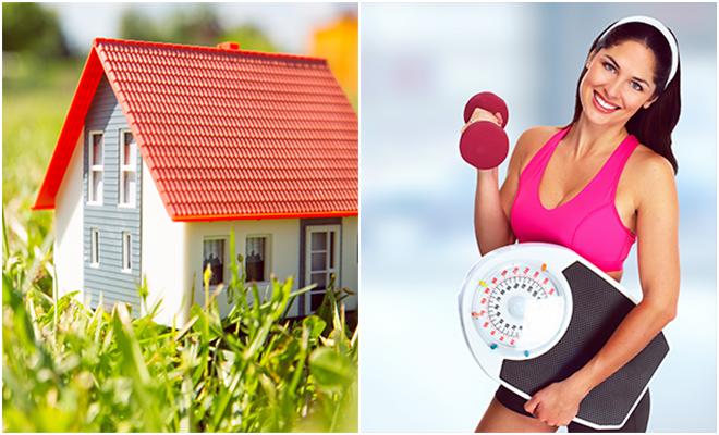 Cómo tu casa puede ayudarte a perder peso, sin ponerte a dieta