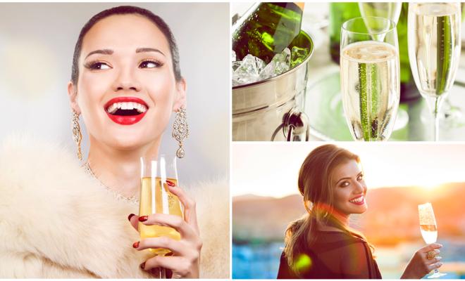 Por qué el champán es la bebida perfecta para ti ;)