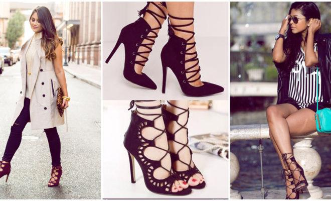 Los mejores outfits para combinar tus lace up heels