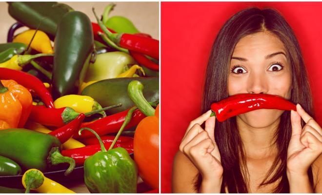 ¡Comer picante alarga la vida!