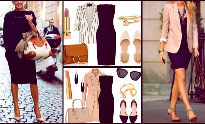 Cómo llevar tu little black dress después de los 40 y lucir fabulosa