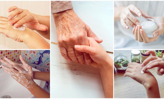 6 formas de retardar el envejecimiento de tus manos