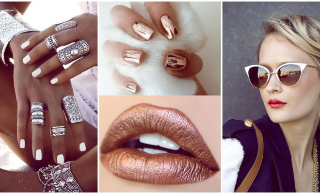 Dorado, plateado o rose gold, ¿qué tono metálico le va mejor a tu tono de piel?