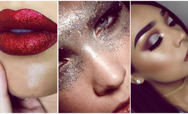 Makeup glitter para salir en la noche en menos de 4 minutos