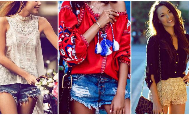 Formas de combinar tus shorts si tu estilo es natural
